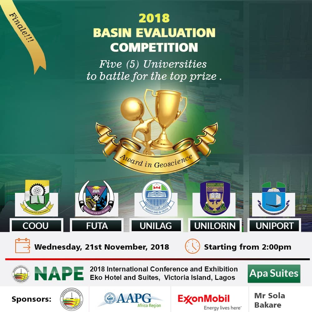 2018 Basin Evaluation Competition