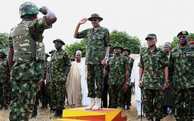 Government uses drones to fight against Boko Haram.