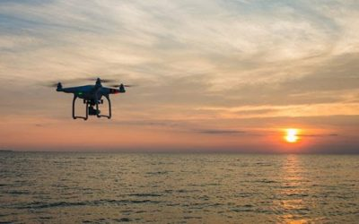 Lagos state uses drone to mointor waterways.
