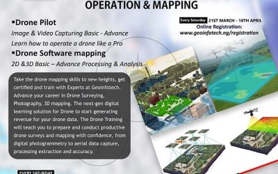 Training on Drone Operation and Mapping