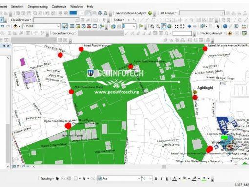 LAGOS, IKEJA ROAD NETWORK MAP