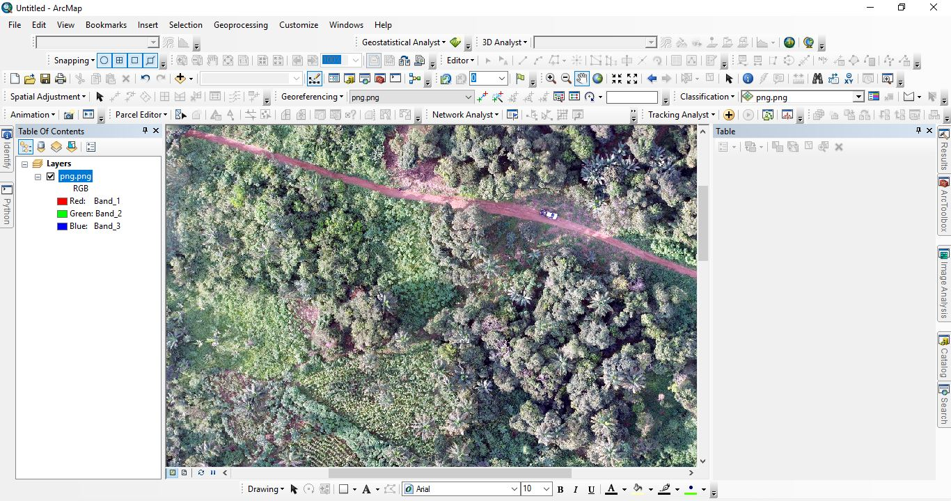 Drone Aerial Surveying and Mapping in Nigeria
