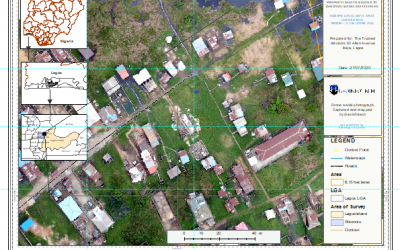 Drone aerial survey and mapping – Lagos Island _ Somolu
