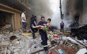 bomblast tradegy in lebanese