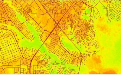 NDVI Vegetation Assessment in Lagos State