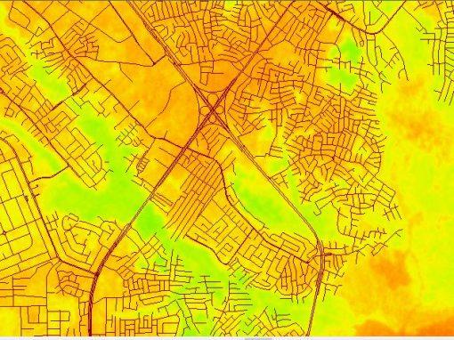 NDVI Vegetation Assessment in Lagos State
