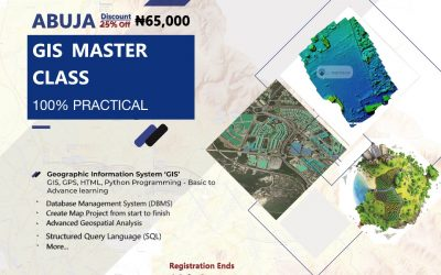 Benefits of Geoinfotech GIS Master Class Training.