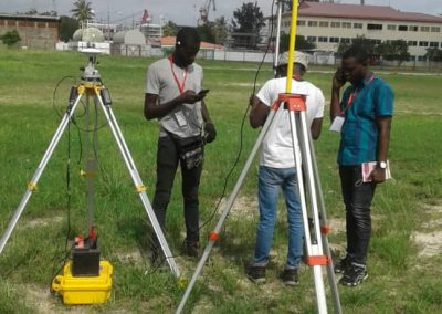 2.7km2 Topography Survey in Snake Island