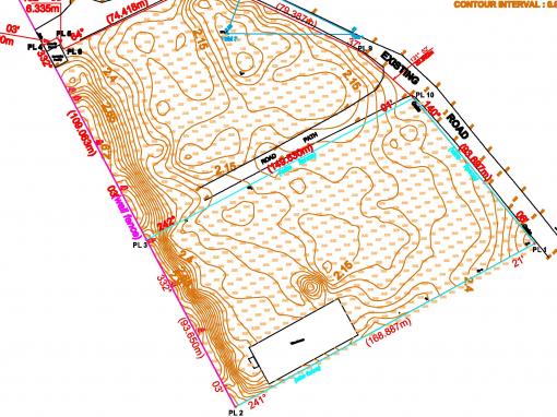 Ground Topography Survey (Lagos Island)