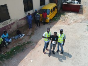 drone Inspection in lagos drainage