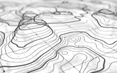 Geographic Information System-Topography  Map